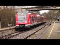 Geradstetten - S-Bahn Stuttgart mit ET 430 + Makro - BR 111 + n-Wagen - ...