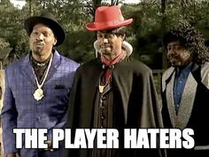the player haters - dave chappelle show. Funny Pix, Funny Images, Funny Photos, Hilarious, Funny Stuff, Dave Chappelle Meme, Player Hater, Pooped My Pants, Chappelle's Show