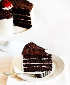 Para los amantes del chocolate una tarta!