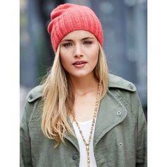 Free Easy Women's Hat Knit Pattern