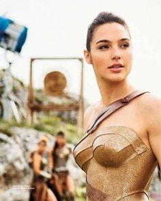 Gal Gadot, she is stunning as Diana in Wonder Woman (2017)
