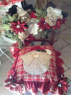 Forro para silla navidad