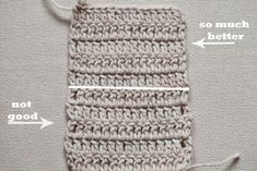 Some time ago I saw a few tutorials on how toget even edge when working double crochet. Some were simple, some – more complicated. Then I played around and came up with this version, which I love. It is really simple, it gives the great result and you don't need to know any special technique … … Continue reading →