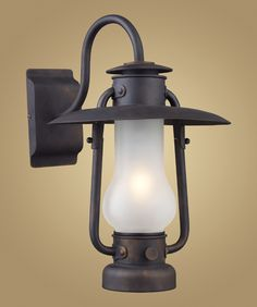 Country decorating - rustic - lighting - outdoor lighting - lantern - Log cabin-   www.homedesignelements.com  $195.00