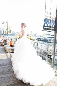 My Maggie Sottero Ivanka Marie wedding dress Maggie Sottero, One Shoulder Wedding Dress, Wedding Dresses, Fashion, Bride Dresses, Moda, Bridal Gowns, Fashion Styles, Weeding Dresses