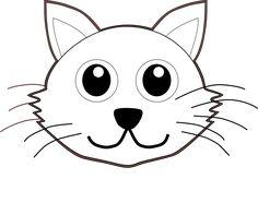 ♥DRAW♥ 60  CARTOON CAT FACE