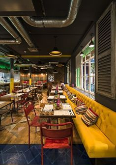 ceviche london interior - Google Search