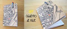 DIY-make your own notebook for traveling http://idoproyect.com/blog/diy/como-hacer-una-libreta-paso-a-paso_diy-para-el-verano/