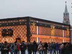 LV at red square