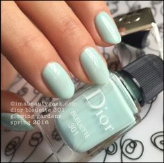 Dior Bleuette 301 - Dior Glowing Gardens Collection Spring 2016