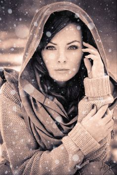 Winter portrait by ~Neesential on deviantART