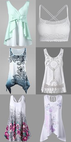 Fashion tank tops for women in summer