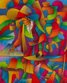Carrying Earthenware to Market (2012) by Julian Coche Mendoza