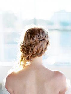 Side Braid Wedding Hairstyle | Fresh Bridal Beauty for Spring | Jeff Brummett Visuals