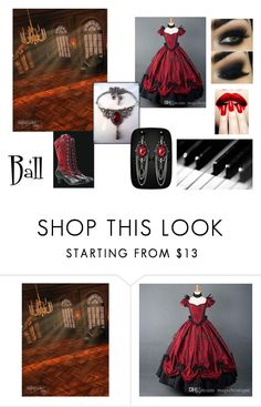 """""""Victorian Ball gown Outfit"""" by emily-jane-coonick on Polyvore"""