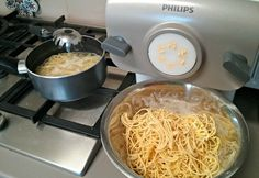 Gluten Free Pasta - for Philips Pasta & Noodle Maker - Real Recipes from Mums (Healthy Pasta Recipes Diet) Keto Pasta Recipe, Healthy Pasta Recipes, Healthy Pastas, Gf Recipes, Gluten Free Recipes, Vegetarian Recipes, Cooking Recipes, Gluten Free Noodles, Gluten Free Pasta