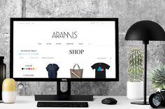 Aramis - eCommerce & Blog WP Theme by Theme Bullet on Creative Market