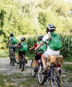 Mit der ganzen Familie zahlt sich ein Radurlaub in der Region Bad Radkersburg aus. #badradkersburg #regionbadradkersburg #radfahren