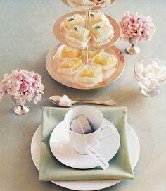 Tea Cakes & Heart-Shaped Sugar Cube:)