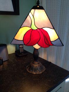 Lampe méthode Tiffany