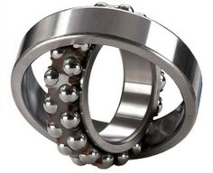 Self-Aligning Ball Bearings: Self-aligning ball bearings have two rows of ball bearings and common sphered raceway in the outer ring, permitting minor angular misalignment of the shaft relative to housing. Thus, they are perfect where misalignment arise. These bearings have a tapered bore to automatically permit minor angular misalignments. http://www.hrbearings.net/self-aligning.html