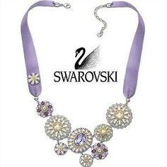 Swarovski Crystal Ribbon Regency Necklace # 1128004