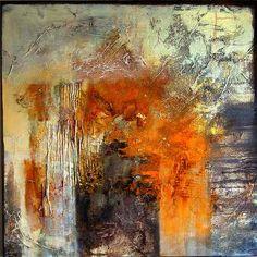 """Rose Lamparter, """"Rost-Grau"""" (33) Mit einem Klick auf 'Als Kunstkarte versenden' versenden Sie kostenlos dieses Werk Ihren Freunden und Bekannten."""