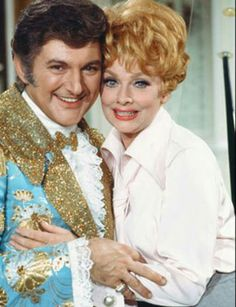 Liberace with Lucy