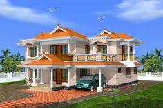 House Design, Indian Villa, Exterior Design
