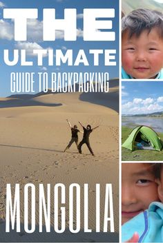 This is the Ultimate Guide to Backpacking Mongolia. All you need to know about costs, transport, accommodation, food, must sees, pros and cons, health, visas and much more. This is the only guide you'll need for travelling in Mongolia. http://www.goatsontheroad.com/guide-backpacking-mongolia/