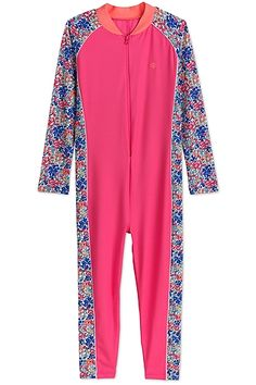 5a48305eb4e2b Neck to Ankle Surf Suit - Shop SPF Swim for Girls - Coolibar: Sun  Protective Clothing - Coolibar