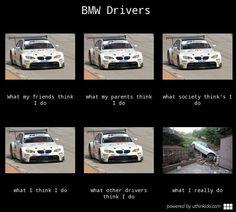 bmw driver training meme