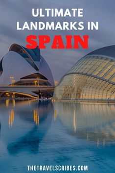 Travel Scribes Landmarks in Spain | The Top 30 Must-Visit Spanish Landmarks Beautiful Places To Visit, Cool Places To Visit, Spain And Portugal, Spain Travel, European Travel, Tenerife, World Heritage Sites, Travel Destinations, Travel Tips