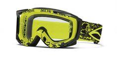Smith Fuel Sweat-x Motocross Goggles - Acid - Inc Roll-off Syst - 2014 Smith Motocross Goggles - 2014 Motocross Gear Oakley Sunglasses, Motocross Goggles, Breathing Mask, Smith Optics, Troy Lee, Mtb, Helmet, Bike
