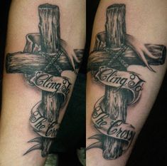Wooden cross tattoos | Tattoos of Crosses