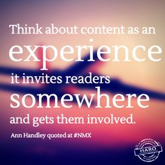 Content As Experience - Ann Handley