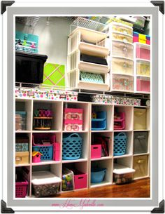HomeMadeville: My Craft Room (Craft Closet) Makeover