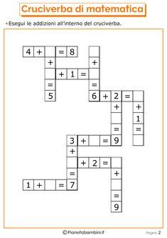 Giochi di Matematica sulle Addizioni per Bambini da Stampare   PianetaBambini.it