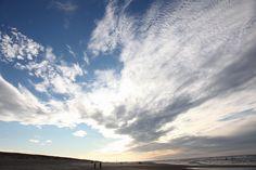 Texel. Beach. Sky.