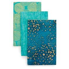 Turquoise notebooks
