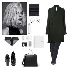 """""""University look. Autumn"""" by djulia-tarasova ❤ liked on Polyvore featuring Victoria Beckham, Acne Studios, NARS Cosmetics, Luvvitt, Givenchy and DAMIR DOMA"""