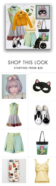 """""""Favorites & rarities"""" by elza6 ❤ liked on Polyvore featuring Supersweet, HVBAO, Sleepyville Critters, Valentino and chuu"""