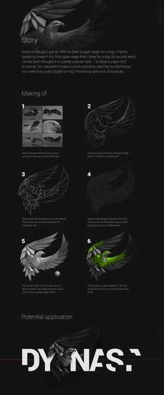 Some times ago I got an offer to draw a paper eagle for a logo. Frankly speaking…