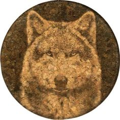 GrafixMat Coaster Timber Wolf Made in the USA *** This is an Amazon Affiliate link. You can get more details by clicking on the image.