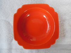 Vintage Homer Laughlin Fiesta Ware Riviera Red Serving Bowl