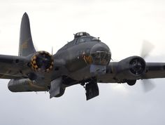 B17 Flying Fortress. Could carry a bomb load of 17,500 lbs on a short mission.  rjp