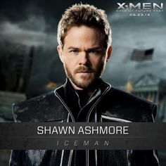 Shawn Ashmore as Bobby in X-Men: Days of Future Past