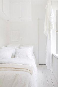 un due tre ilaria  9 WHITE BEDROOMS INSPIRATIONS