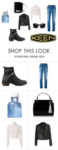"""""""So Fresh and So Keen: Contest Entry"""" by pausteja ❤ liked on Polyvore featuring Keen Footwear, Dondup, Dolce&Gabbana, A.L.C., Paige Denim and keen"""