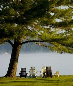 Muskoka Chairs Ontario, Canada http://www.travelandtransitions.com/our-travel-blog/ontario-2005-2012/